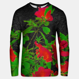 Thumbnail image of Dark Pop Art Floral Poster Unisex sweater, Live Heroes