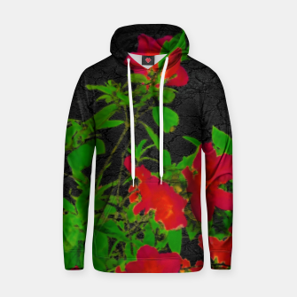 Thumbnail image of Dark Pop Art Floral Poster Hoodie, Live Heroes