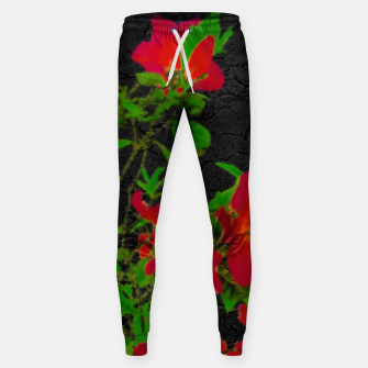 Miniaturka Dark Pop Art Floral Poster Sweatpants, Live Heroes