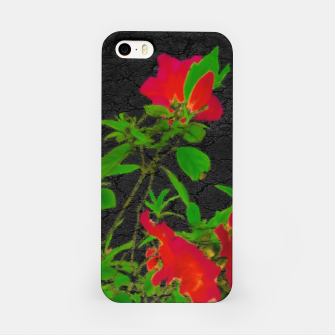 Miniaturka Dark Pop Art Floral Poster iPhone Case, Live Heroes