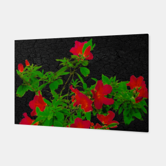 Thumbnail image of Dark Pop Art Floral Poster Canvas, Live Heroes