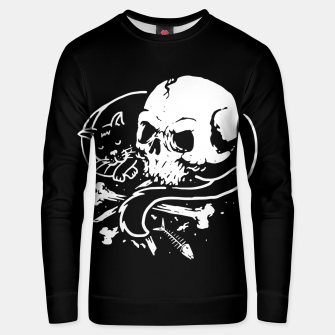 Thumbnail image of Dark Cat Unisex sweater, Live Heroes