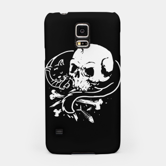 Thumbnail image of Dark Cat Samsung Case, Live Heroes