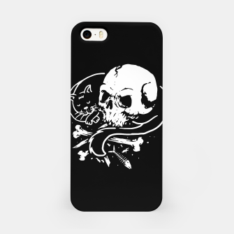 Thumbnail image of Dark Cat iPhone Case, Live Heroes