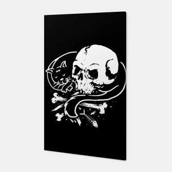 Thumbnail image of Dark Cat Canvas, Live Heroes