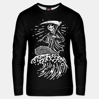 Thumbnail image of Grim Surfer Unisex sweater, Live Heroes