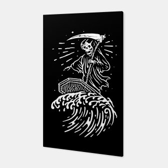 Thumbnail image of Grim Surfer Canvas, Live Heroes
