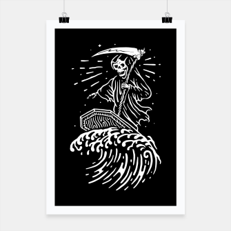 Thumbnail image of Grim Surfer Poster, Live Heroes