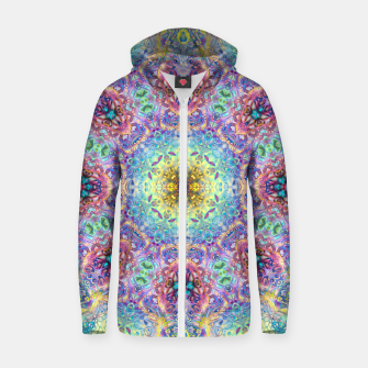 Abstract Pattern III Zip up hoodie obraz miniatury