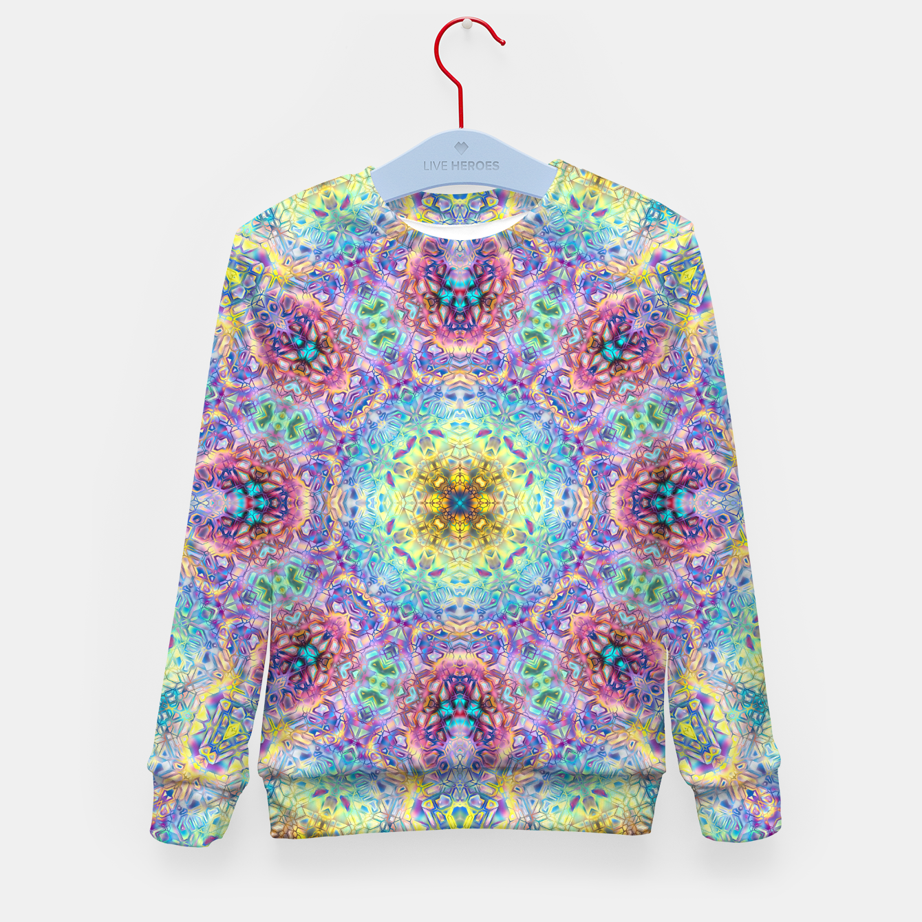 Zdjęcie Abstract Pattern III Kid's sweater - Live Heroes