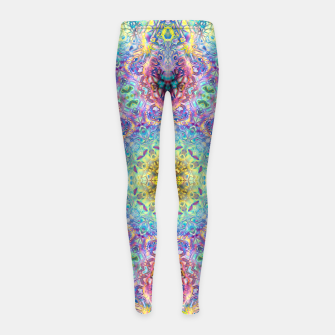 Abstract Pattern III Girl's leggings obraz miniatury