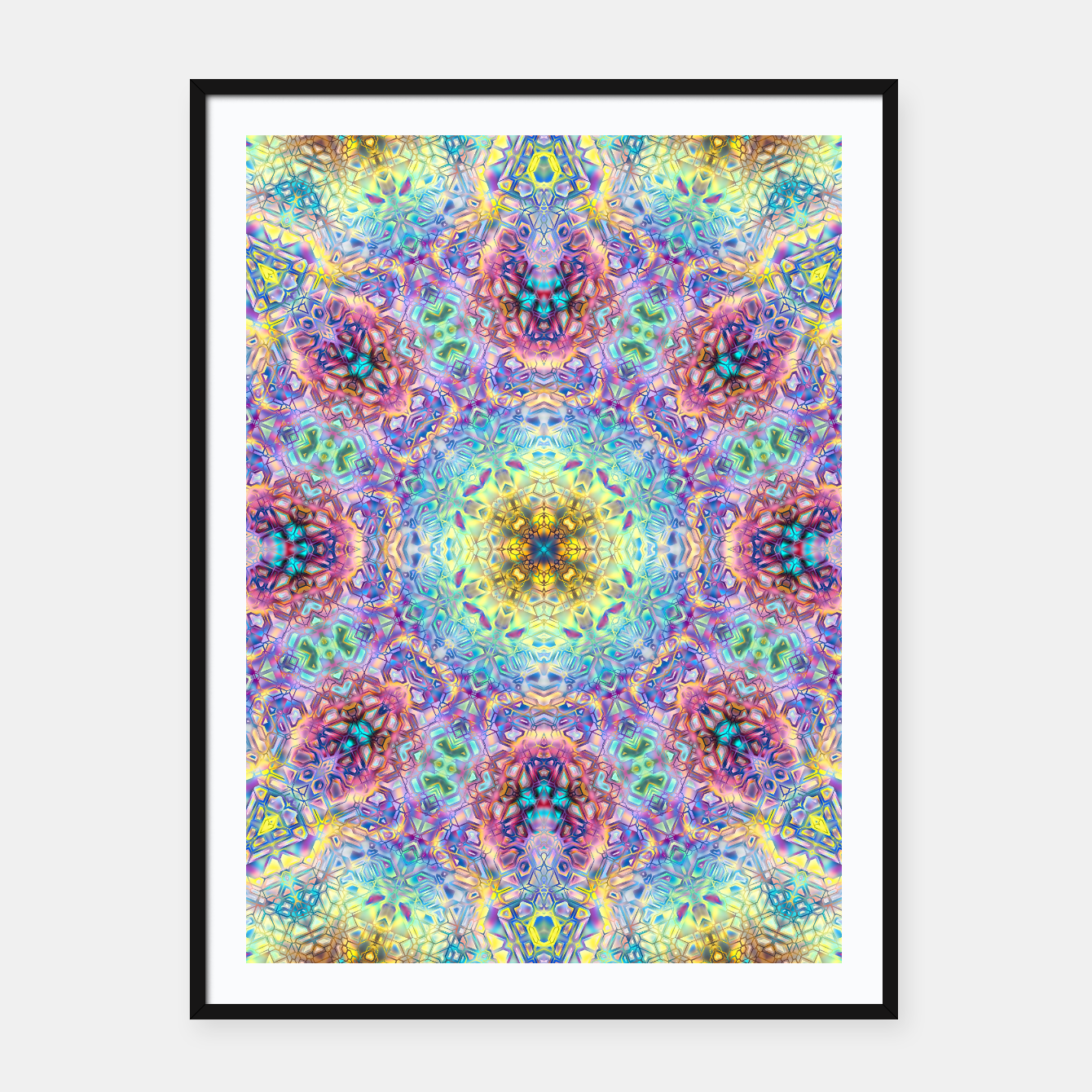 Zdjęcie Abstract Pattern III Framed poster - Live Heroes