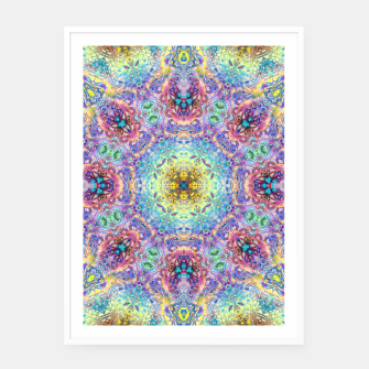 Miniaturka Abstract Pattern III Framed poster, Live Heroes