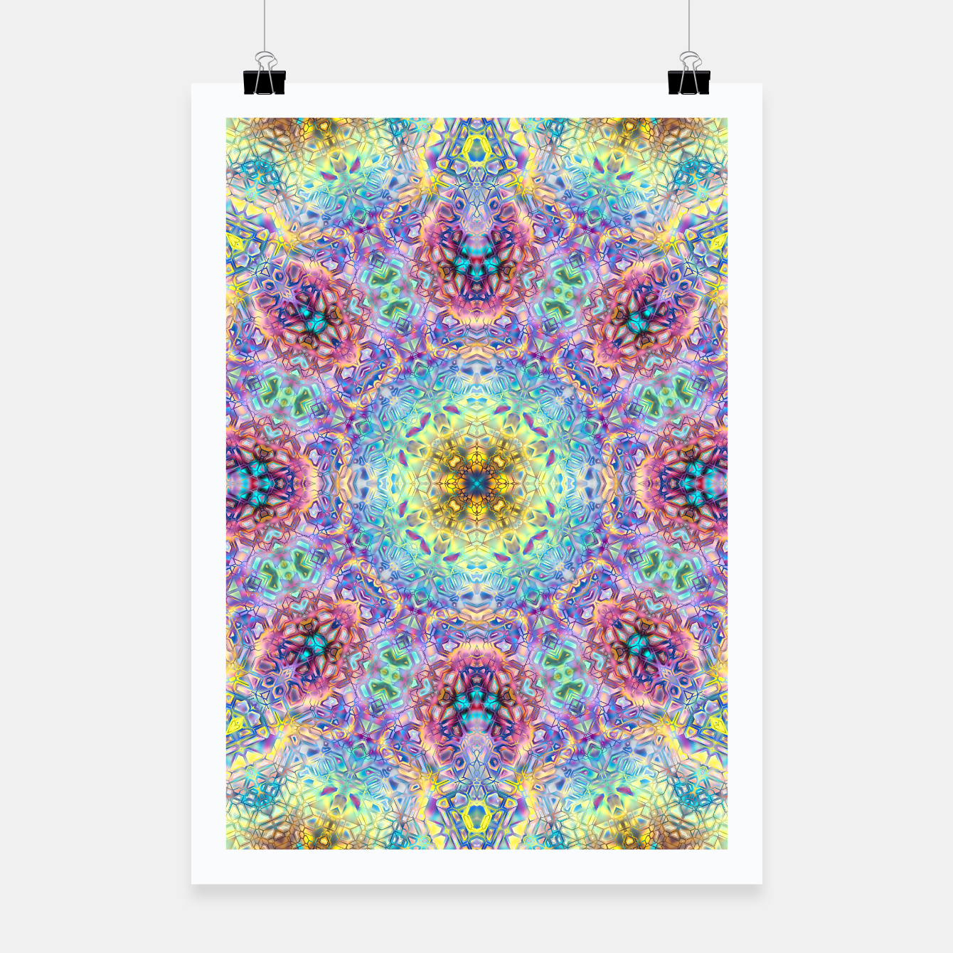 Zdjęcie Abstract Pattern III Poster - Live Heroes