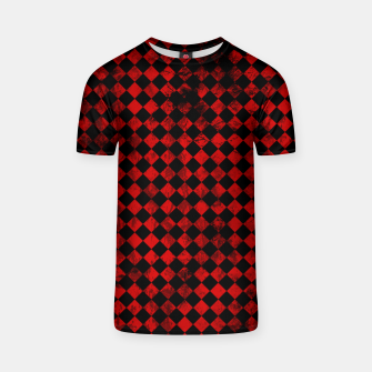 Thumbnail image of Diamond Pattern Whimsical Hq T-shirt, Live Heroes