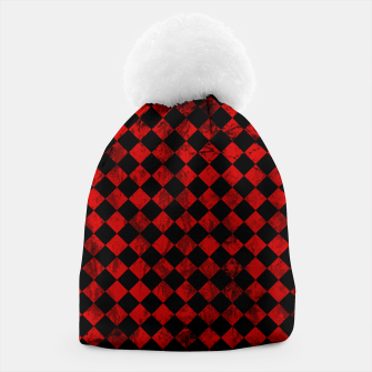 Thumbnail image of Diamond Pattern Whimsical Hq Beanie, Live Heroes