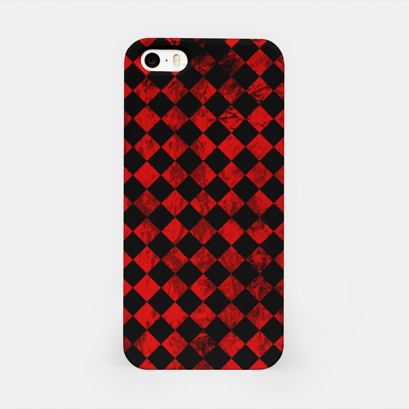 Image of Diamond Pattern Whimsical Hq iPhone Case - Live Heroes