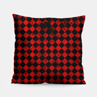 Thumbnail image of Diamond Pattern Whimsical Hq Pillow, Live Heroes