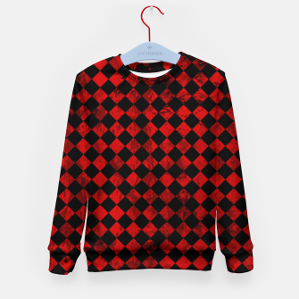 Thumbnail image of Diamond Pattern Whimsical Hq Kid's sweater, Live Heroes