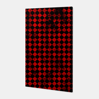 Thumbnail image of Diamond Pattern Whimsical Hq Canvas, Live Heroes