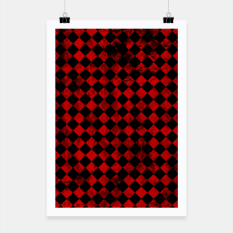 Thumbnail image of Diamond Pattern Whimsical Hq Poster, Live Heroes