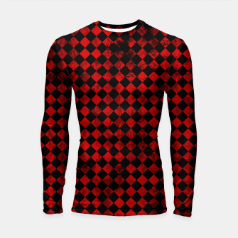 Thumbnail image of Diamond Pattern Whimsical Hq Longsleeve rashguard , Live Heroes