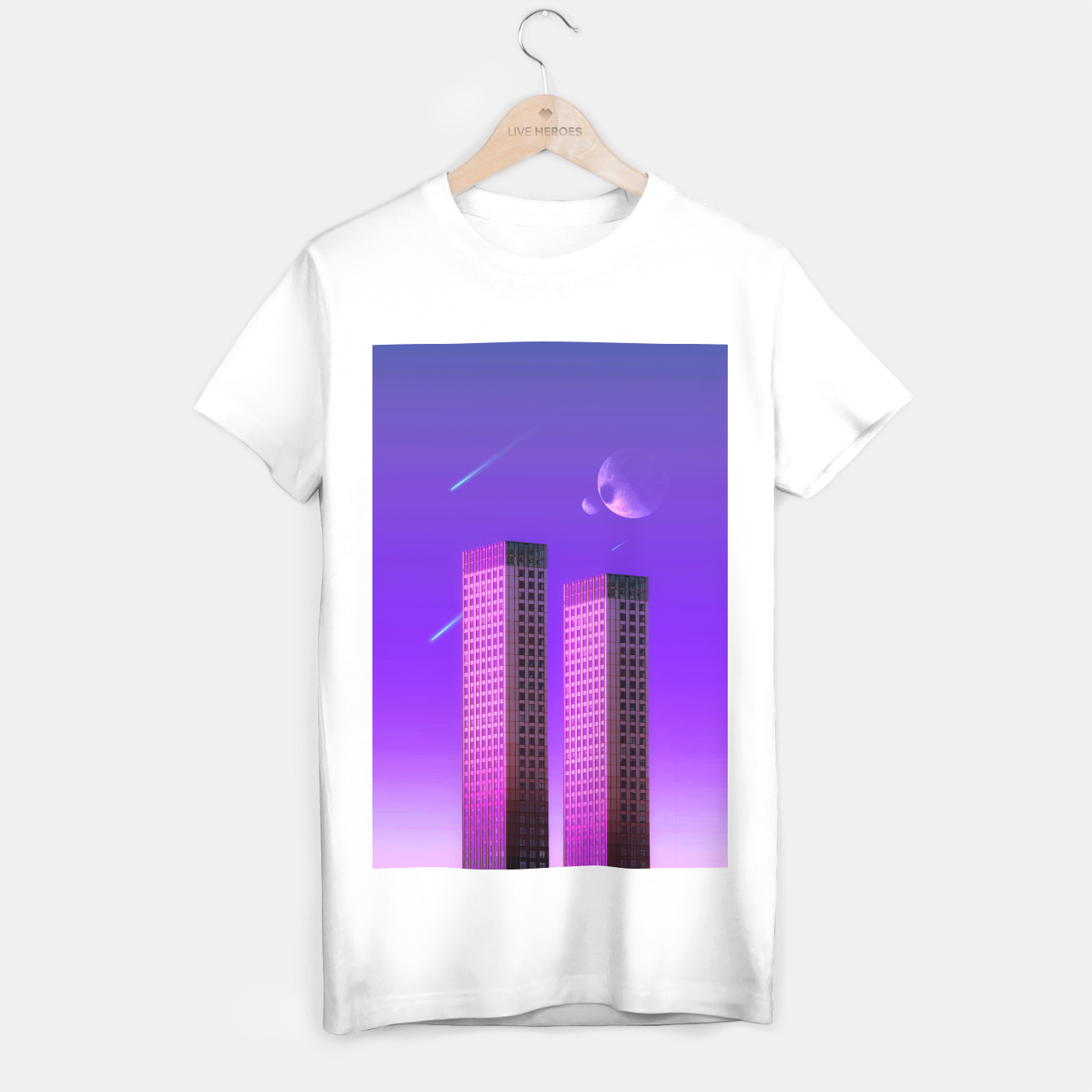 Image of the Twins T-shirt regular - Live Heroes