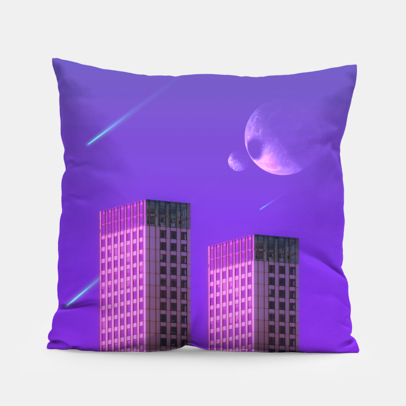 Image of the Twins Pillow - Live Heroes