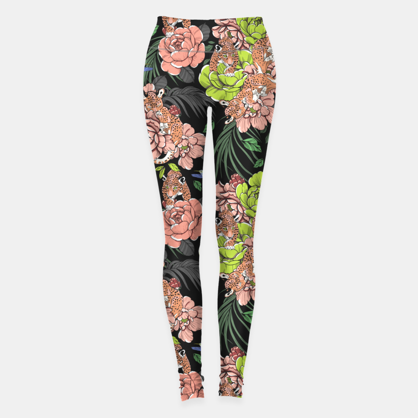 Image de Baby leopard at night Leggings - Live Heroes