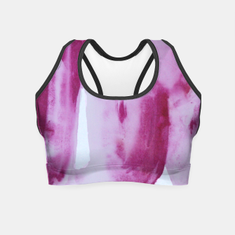 Miniatur purple Crop Top, Live Heroes