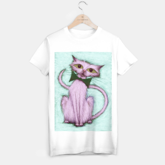 Miniatur Hello nice cat T-shirt regular, Live Heroes