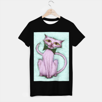 Thumbnail image of Hello nice cat T-shirt regular, Live Heroes