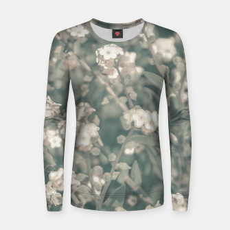 Thumbnail image of Beauty Floral Scene Photo Women sweater, Live Heroes