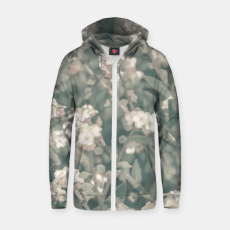 Thumbnail image of Beauty Floral Scene Photo Zip up hoodie, Live Heroes