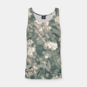 Miniaturka Beauty Floral Scene Photo Tank Top, Live Heroes