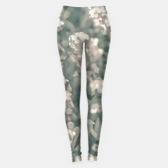 Miniaturka Beauty Floral Scene Photo Leggings, Live Heroes