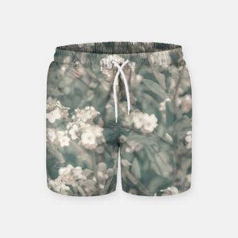 Thumbnail image of Beauty Floral Scene Photo Swim Shorts, Live Heroes