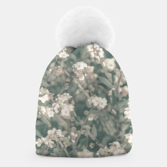 Thumbnail image of Beauty Floral Scene Photo Beanie, Live Heroes