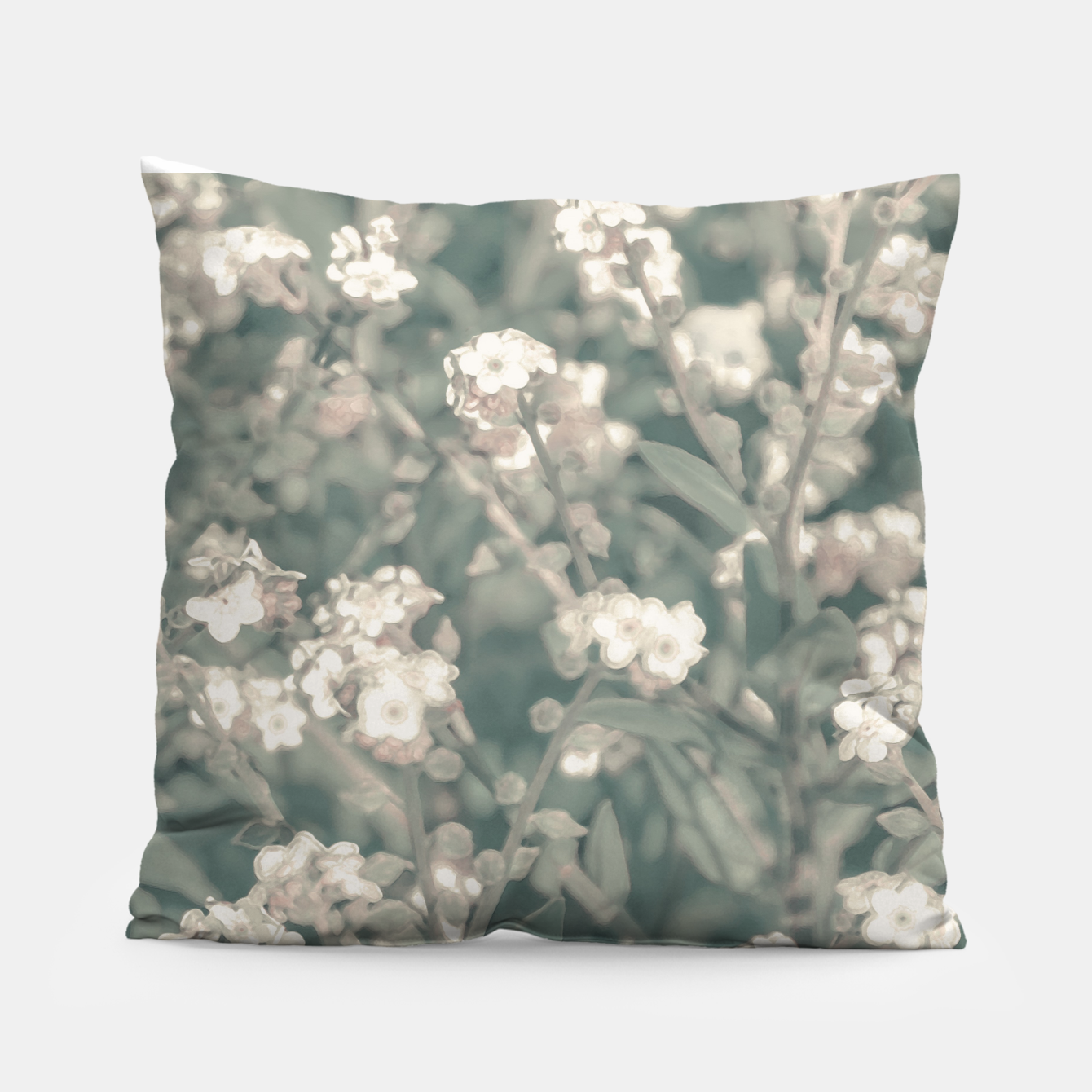 Image of Beauty Floral Scene Photo Pillow - Live Heroes