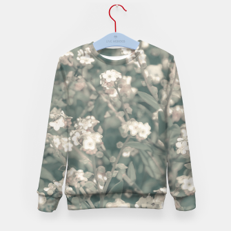 Miniaturka Beauty Floral Scene Photo Kid's sweater, Live Heroes