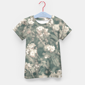 Thumbnail image of Beauty Floral Scene Photo Kid's t-shirt, Live Heroes
