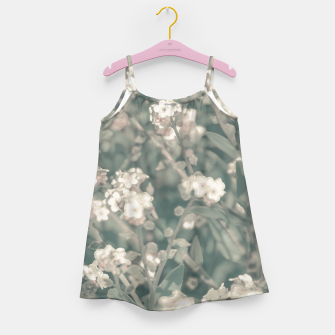 Thumbnail image of Beauty Floral Scene Photo Girl's dress, Live Heroes
