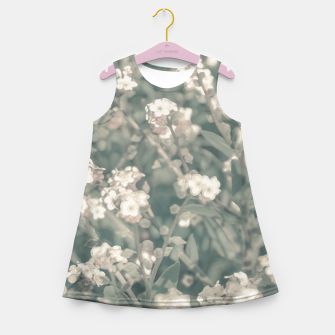 Miniaturka Beauty Floral Scene Photo Girl's summer dress, Live Heroes