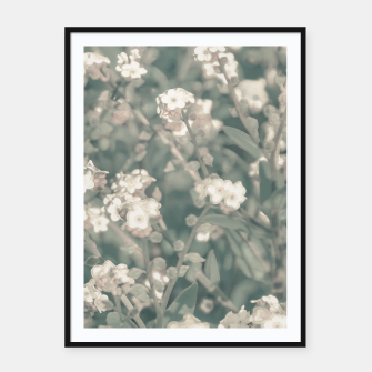 Thumbnail image of Beauty Floral Scene Photo Framed poster, Live Heroes