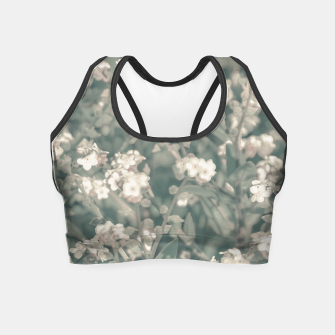 Miniaturka Beauty Floral Scene Photo Crop Top, Live Heroes
