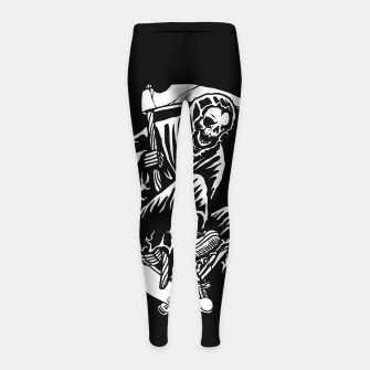 Grim Skater Girl's leggings miniature