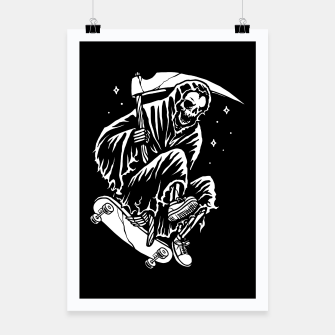 Thumbnail image of Grim Skater Poster, Live Heroes