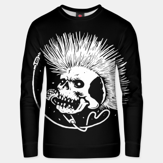 Thumbnail image of Skull Punk Unisex sweater, Live Heroes