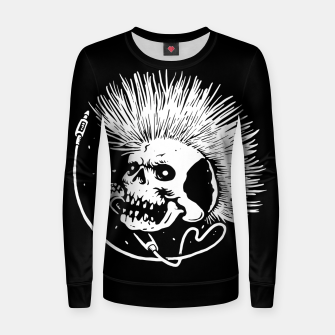 Thumbnail image of Skull Punk Women sweater, Live Heroes