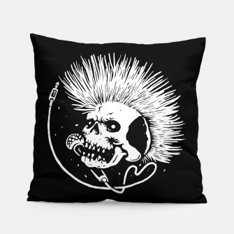 Thumbnail image of Skull Punk Pillow, Live Heroes